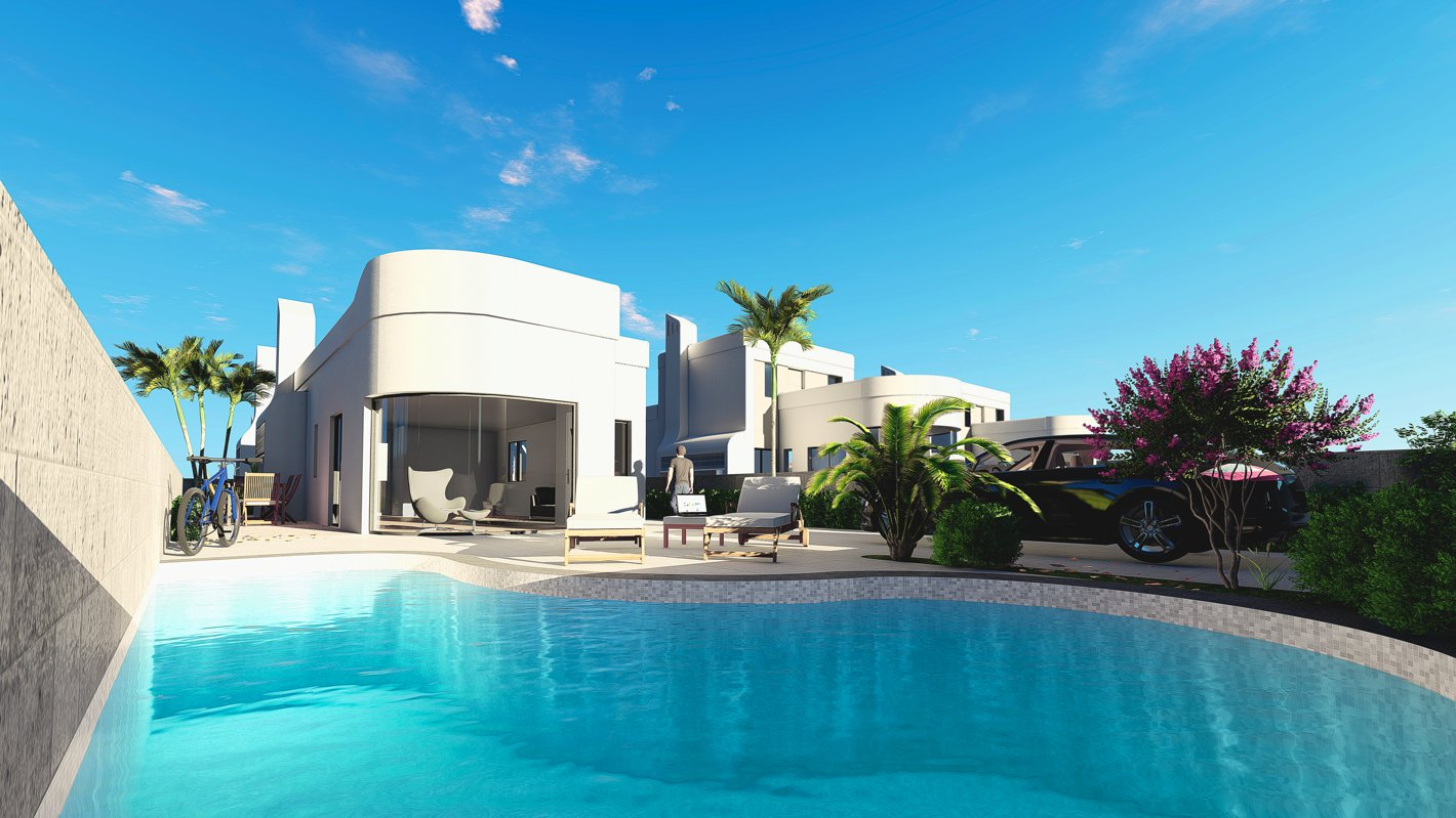 3 Bedroom, 2 Bathroom Villa in {